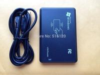 Free Shipping(1 Pc) 125Khz RFID Card Reader EM4100 USB Proximity Sensor Smart Reader + 2 Pcs 125Khz RFID Card