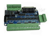5 axis CNC Breakout Board interface DC 12-36V power supply(High-speed optocoupler Edition) + one DB25 caple