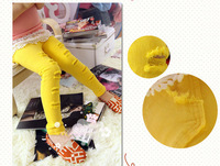 Free Shipping Retail ( 3 colors ) 2013 Summer Candy Skinny Girls Pant With Some Broken Holes Children's Pant