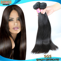 100% Straight Human Hair Virgin Brazilian Straight Hair 4pcs lot Natural Black Color Brazilian Virgin Hair GAGA Hair