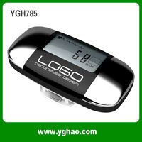 Free Shipping LCD Heart Rate Pedometer And  Best Pedometers HAPTIME YGH785