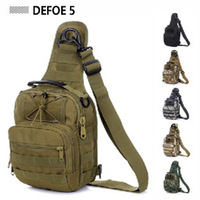 Tactical Fly Fishing Camping Equipment Outdoor Sport Nylon Wading Chest Pack Cross body Sling Single Shoulder Bag,Men Unisex *