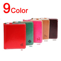2014 Brand New Small Short Design Mini PU Leather Wallets New Women Purse /Fashion Cheap Coin Card Holder/9 colors Free Shipping