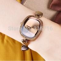 Woman Watches 2014 Famous Brand JULIUS Fashion Diamond Quartz Wristwatches Vintage Casual Square Leather Strap Watches Gift 298