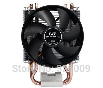 Retail box, 90mm fan, 2 heatpipe, side-blown, Intel 775/1150/1155/1156, AMD FM1/AM2+/AM3/FM2, CPU cooler, CoolerBoss CAH-209-03