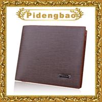 popular fashion brand name leather man purse designer promotion billfold wallet for men free shipping 13803-1