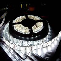 4500K nature white,daylight 5630 LED strip,5M 300LED waterproof flexible DC12V LED Strip,60LED/m,T-116 + free shipping