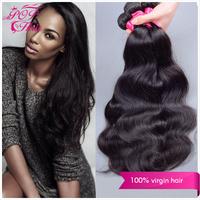 Ali POP Peruvian virgin hair body wave 6A Peruvian body wave hair extension 8''-30''natural black hair 100%  human hair weave