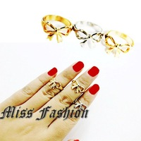 11.11 New Arrival Hotselling Bow Midi ring , Bow Midi Knuckle Ring
