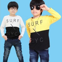 Free shipping Children short-sleeved T-shirt 2013 summer new boys/girls children's clothing T-shirt
