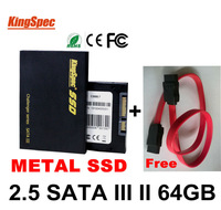 Kingspec 7mm Super Slim 2.5 Inch SATA III 3 SATA II 64GB hd SSD disk Solid State Disk For Notebook Computer HDD dropshipping