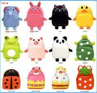 16 Styles Kids Animal Backpacks Child Children Backpack Baby School Bag Pattern PU Leather Bags Shoulder Bags