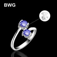 Fashion Copper Rings Fashion Bear Rhinestone Crystal Jewelry Crystal Silver Plated Ring For Women BWG-SRB