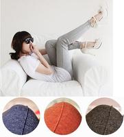 Leggings for Women Solid Candy Color Casual Cotton Legging Ankle Length Slim Pencil Pants 2014 Fashion Autumn