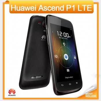 Huawei Ascend P1 LTE 4G U9202 Mobile Phone Android 4.0 Dual Core 8MP BSI Camera 1+4GB Multi-Language Support Free Shipping