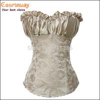 Sexy Corsets and Bustiers Black Waist Training Corset Renaissance,Lingerie Lacing Corset tops For Wedding Dress Plus Size 4XL