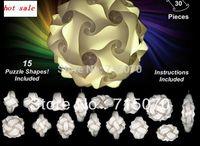 wholesale free shipping iq puzzle lamp iq jigsaw lights  small size  diameter 280mm  prompt shipment 100sets per lot