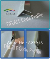 Construction material ----- Aluminum Profile F Code for Stretch Ceilings