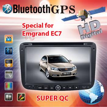 Newest version EC 7 Car GPS, Car DVD for Geely EMGRAND EC7 2012 EC7 DVD  with GPS+TV(optional+IPOD+USB+SD