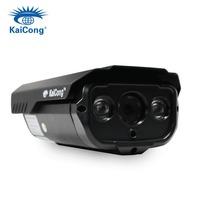 1080P 2 Megapixels 1600*1080 Pixels Full-HD Ip Camera Outdoor Waterproof IP66 Level H.264 Mobile Viewing Black KaiCong Sip1123