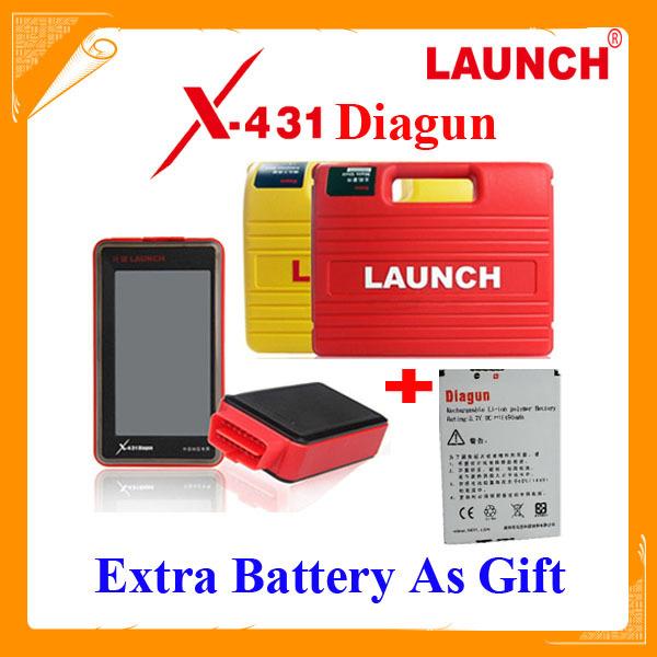 DHL free Multi-language Launch X431 Diagun diagnostic tool 120 Software Full Set with Lifelong free update x-431 diagun(China (Mainland))