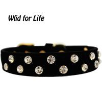 Decorative Fashion Bling Bling Sparkle Rhinestone Studded Elegant Dog Collars