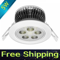 lote free shipping lotes-drop shipping cree chip 5w ceiling -lamp home decorative ceiling lights led 220 240v led recessed