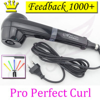 2013 NEW Pro Perfect Curl  titanium hair curler heat-styling tools automatic hair roller with EU, AU, US, UK outlet