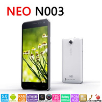 "2013 hot selling neo n003 MTK6589T quad core android 4.2 smart phone 1GB/2GB RAM 4GB/32GB ROM 5.0"" IPS screen"