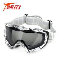 Panlees Ski Glasses Snowboard Goggles Snowboard Glasses Dual Lens Anti-fog Anti-UV400 Free Shipping