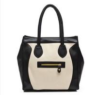 bolsas femininas 2014 famous brand handbags smile PU Leather Women's Vintage Crossbody Shoulder Messenger bolsos mujer hand  Bag