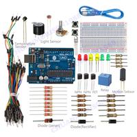 New SunFounder  Uno R3 Project Universal Starter Kit For Arduino Starter Beginner