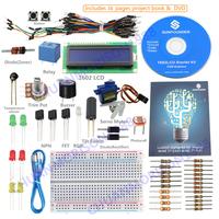 SunFounder Project LCD Starter Kit For Arduino UNO R3 Mega2560 Mega328 Nano