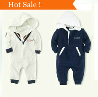 0-24 months New arrive baby boy Rompers polo kids pure cotton casual kids jump suit autumn infant clothing