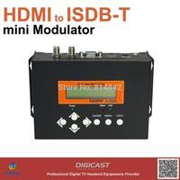 mini HDMI to ISDB-Tb Modulator, turn your HDMI Video to ISDB-Tb RF signal. USB interface for Record,Save,Playback.