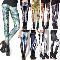 2014 New Fashion Women's Sexy Printing Skinny Legging Pants Pencil Pants Trousers drop shipping 20074