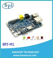 Original high quality Banana PI , Dual core ,1GB Memory,10/100/1000 Ethernet RJ45,sata port on board ,optional WIFI, Android 4.2