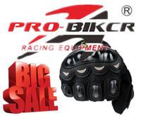 Probiker Motorcycle Gloves Motorbike Black Full Finger Size XXL DH Bike Men Cycling Moto Sport Gear