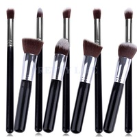 Best Quality 9pcs Makeup brushes Premium Synthetic Make up Brush Set Tools Kit Professional Cosmetics Silver Drop Shipping B26