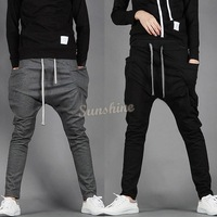 New 2014 Mens Joggers Fashion Harem Pants Trousers Hip Hop Slim Fit Sweatpants Men for Jogging Dance 3 Colors #6 SV002179
