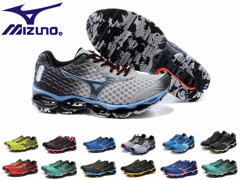 MIZUNO wave prophecy 3 4 Free shipping Original women Wave Rider 17 feminino men athletic shoes tennis original running shoes(China (Mainland))