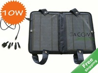 Foldable solar energy charger 10W/6V +100% solar power+Travelling usage