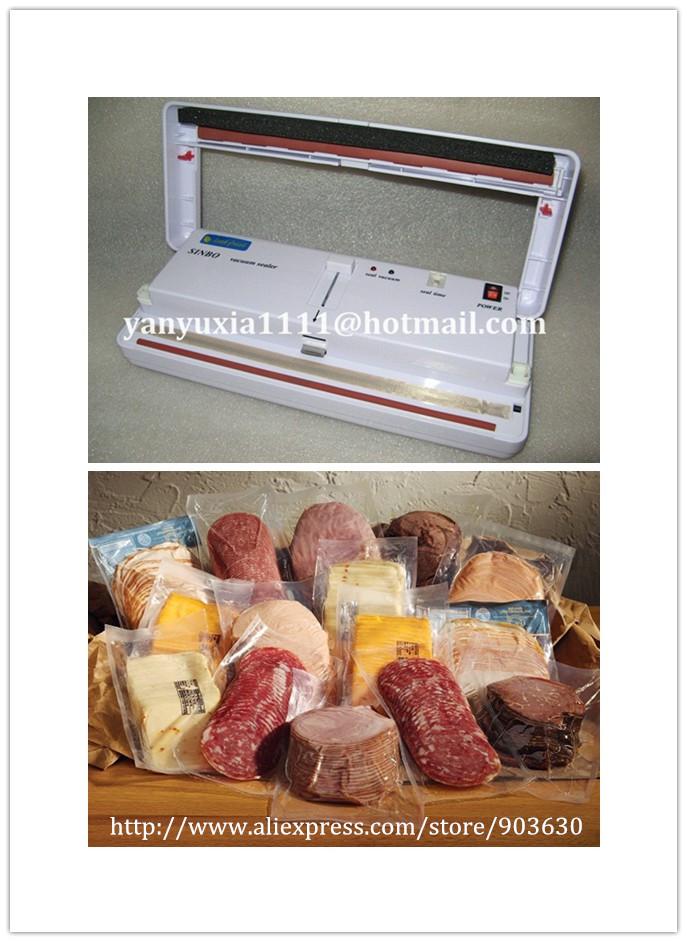 220V/110V SINBO DZ-280 Mini Multi-Functional Household food Vacuum Packing Machine Food Vacuum Sealer(China (Mainland))