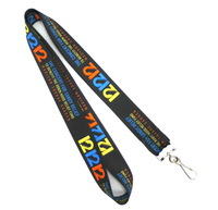customize lanyard  fast and cheapest cost printig company logos