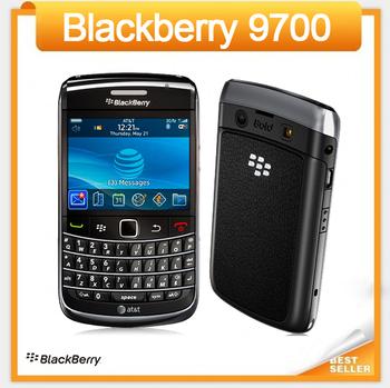 Unlocked 9700 Original BlackBerry Phone QWERTY Camera 3.2MP Refurbished GPS WIFI 3G Phone