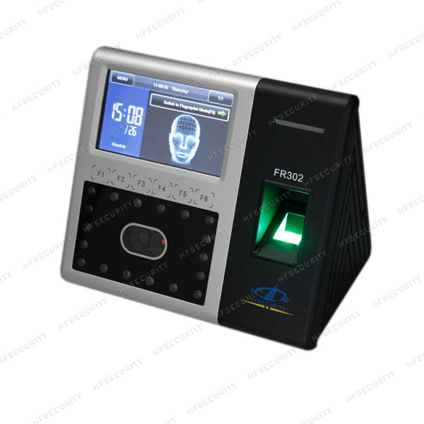 Facial recognition time attendance system NO.1 Sale,Biometric Face/Fingerprint Real Time Clock and Door Controller HF-FR302(China (Mainland))