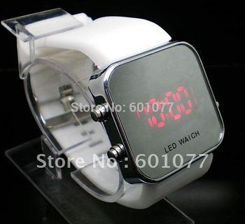 Wholesale men women wristwatches ladies fashion Led Silicone Digital watch Women watches men W556