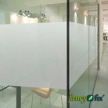 Adhesive Free Static Cling Frosted Privacy Decorative Window Film S151