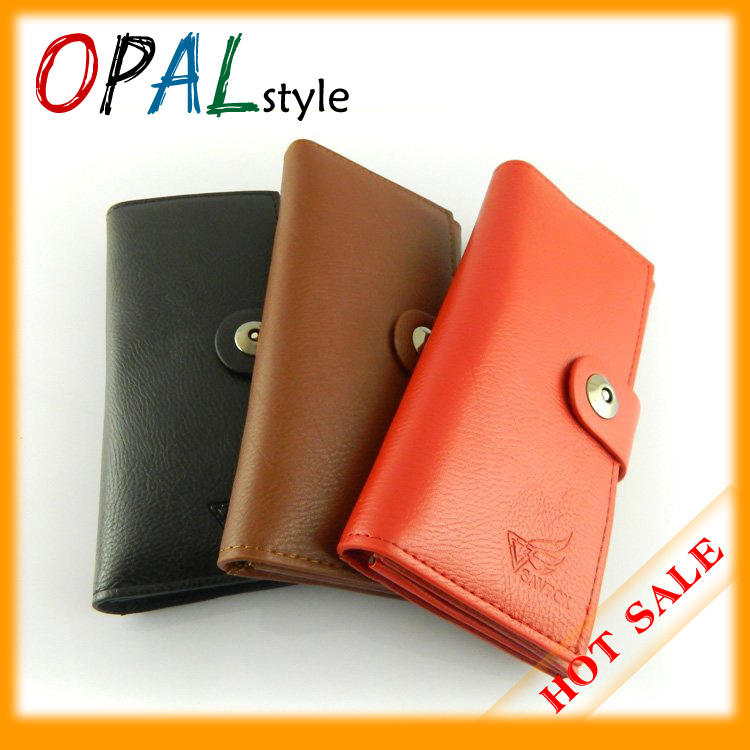 2013 HOT SALE ,Free shipping High quality PU leather For Women, Leather Coin Purse with magnetic clasp(China (Mainland))