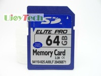 Full Capacity Class10 64GB SDXC High Quality OEM Memory Card + Box + Free Shipping+ Gift card reader